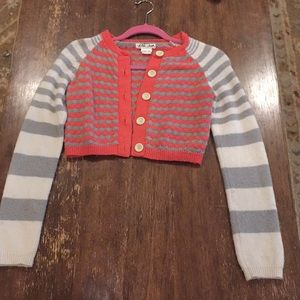 Anthropologie knitted striped sweater.
